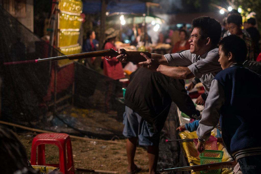 Village fair at Ban That (Vientiane Province)