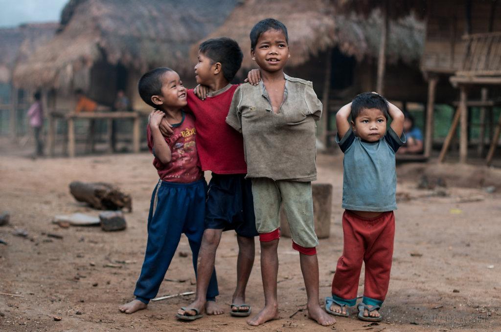 Village buddies in Xe Sap NPA